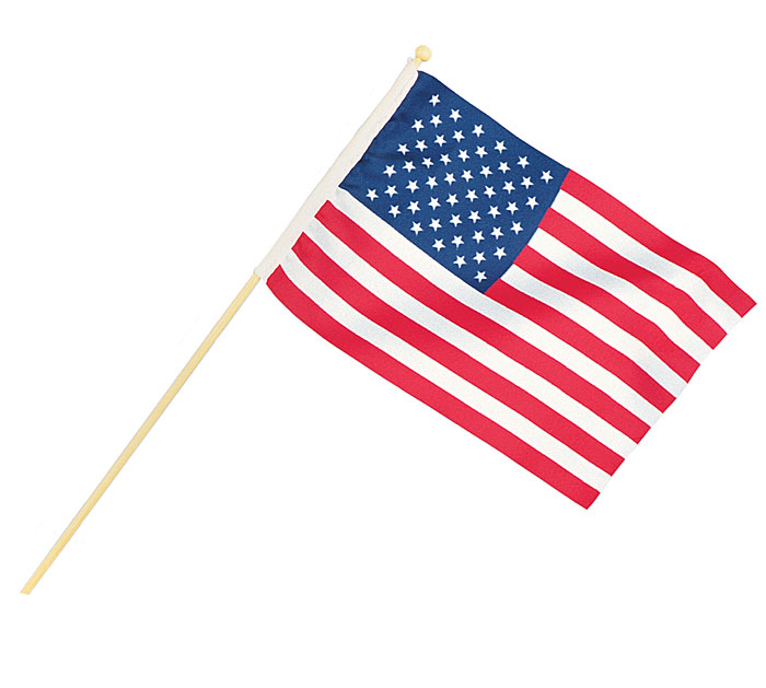 "4"" X 6"" AMERICAN FLAG"