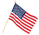 "12"" X 18"" AMERICAN FLAG"