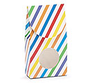 BRIGHT STRIPES PAPER CANDY BOX