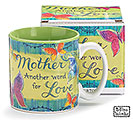 MOTHER/LOVE CERAMIC MUG W/BOX
