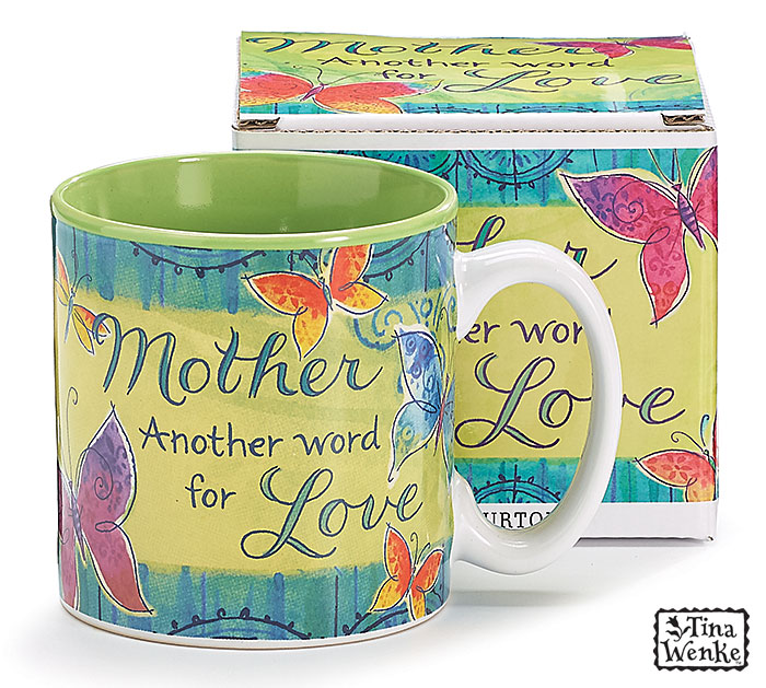 MOTHER/LOVE CERAMIC MUG W/BOX