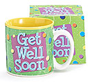 GET WELL SOON CERAMIC MUG W/ BOX