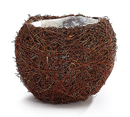PLANTER LG BIRD NEST