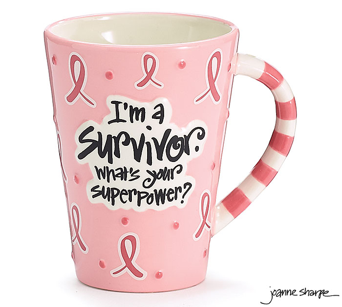 SURVIVOR SUPERPOWER CERAMIC MUG