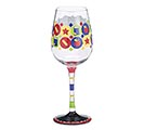KEEP YOUR APPLE/TEACHER WINE GLASS 1st Alternate Image