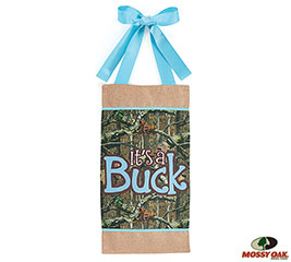 MOSSY OAK IT'S A BUCK WALL HANGING