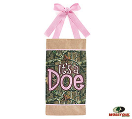 MOSSY OAK IT'S A DOE WALL HANGING