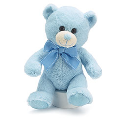 PLUSH BLUE BEAR