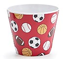 "4"" SPORTS MELAMINE POT COVER"