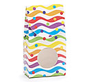 BRIGHT WAVES/DOTS PAPER CANDY BOX
