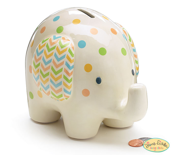 c2fef256a9c Product Details. CERAMIC BABY ELEPHANT BANK