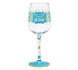 WINE GLASS MESSAGE