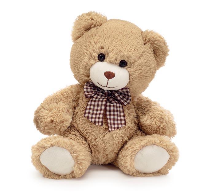 "PLUSH 10"" BROWN BEAR"