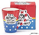 MOM SUPERPOWER CERAMIC MUG 1st Alternate Image