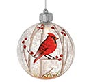 LED RED CARDINAL CHRISTMAS ORNAMENT