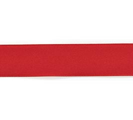 #3 RED TAFFETA RIBBON