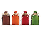 FALL SQUARE BOTTLE SHAPE VASE