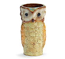 SMALL PORCELAIN OWL VASE