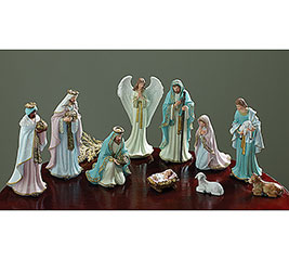 10 PIECE NATIVITY