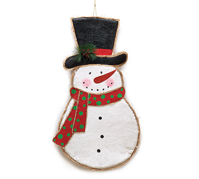 SNOWMAN WALL HANGING