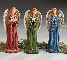 ANGEL FIGURINE ASSORTMENT