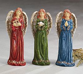 ANGEL FIGURINE ASSORTMENT