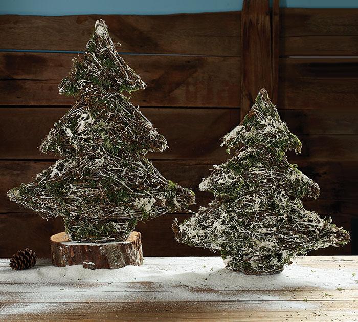 Willow Christmas Tree Decor