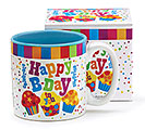 HAPPY BIRTHDAY TO YOU CERAMIC MUG W/BOX