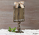RECIPE/PHOTO HOLDER DECOR