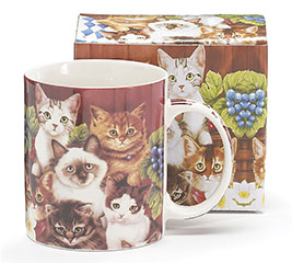 KITTENS FOR EVERYONE CERAMIC MUG W/BOX