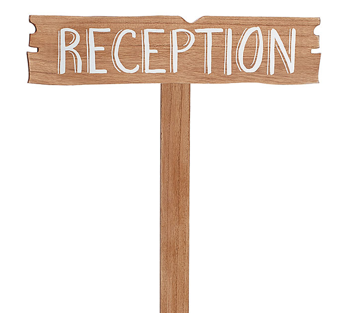 RECEPTION YARD STAKE