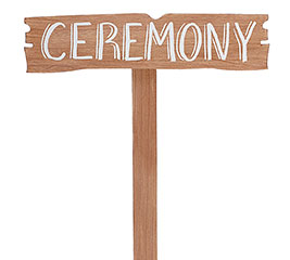 CEREMONY YARD STAKE