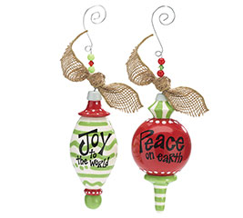 ORNAMENT JOY  PEACE