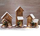 WOOD HOUSES ASTD