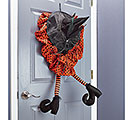 ANIMATED WITCH HAT DOOR HANGER