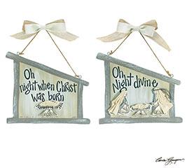CHRISTMAS STORY WALL HANGING