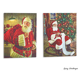 SANTA CLAUS CANVAS