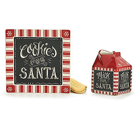 SQUARE COOKIES FOR SANTA GIFT SET