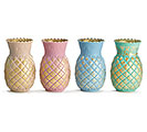 VASE SPRING PINEAPPLE SHAPE