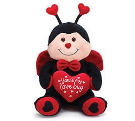 PLUSH YOU'RE MY LOVE BUG LADYBUG