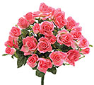 PINK DIAMOND ROSE SILK BUSH