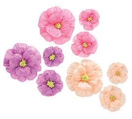 HANGING PAPER FLOWER ASSORTMENT