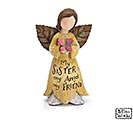 SISTER FAIRY ANGEL RESIN FIGURINE