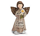 FAMILY IS FOREVR FAIRY ANGEL FIGURINE