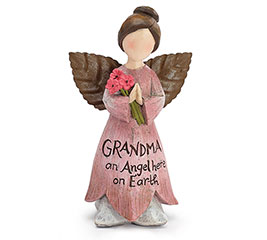 GRANDMA FAIRY ANGEL FIGURINE