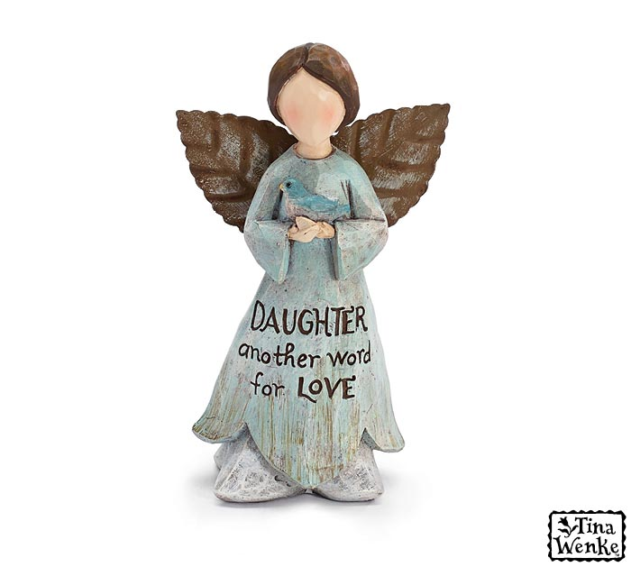 DAUGHTER/LOVE ANGEL FIGURINE