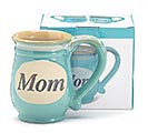 MINT GREEN MOM/MESSAGE PORCELAIN MUG 2nd Alternate Image