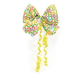 BOW MULTI COLOR DAISIES