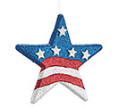 PATRIOTIC FOAM STAR WALL HANGING