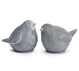 FIGURINE CEMENT BIRDS SMALL ASTD